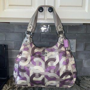 COACH Madison Maggie Chain Link Shoulder Bag